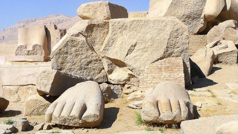 The Ramesseum in Luxor | Ramesseum Temple | Ramesseum Facts